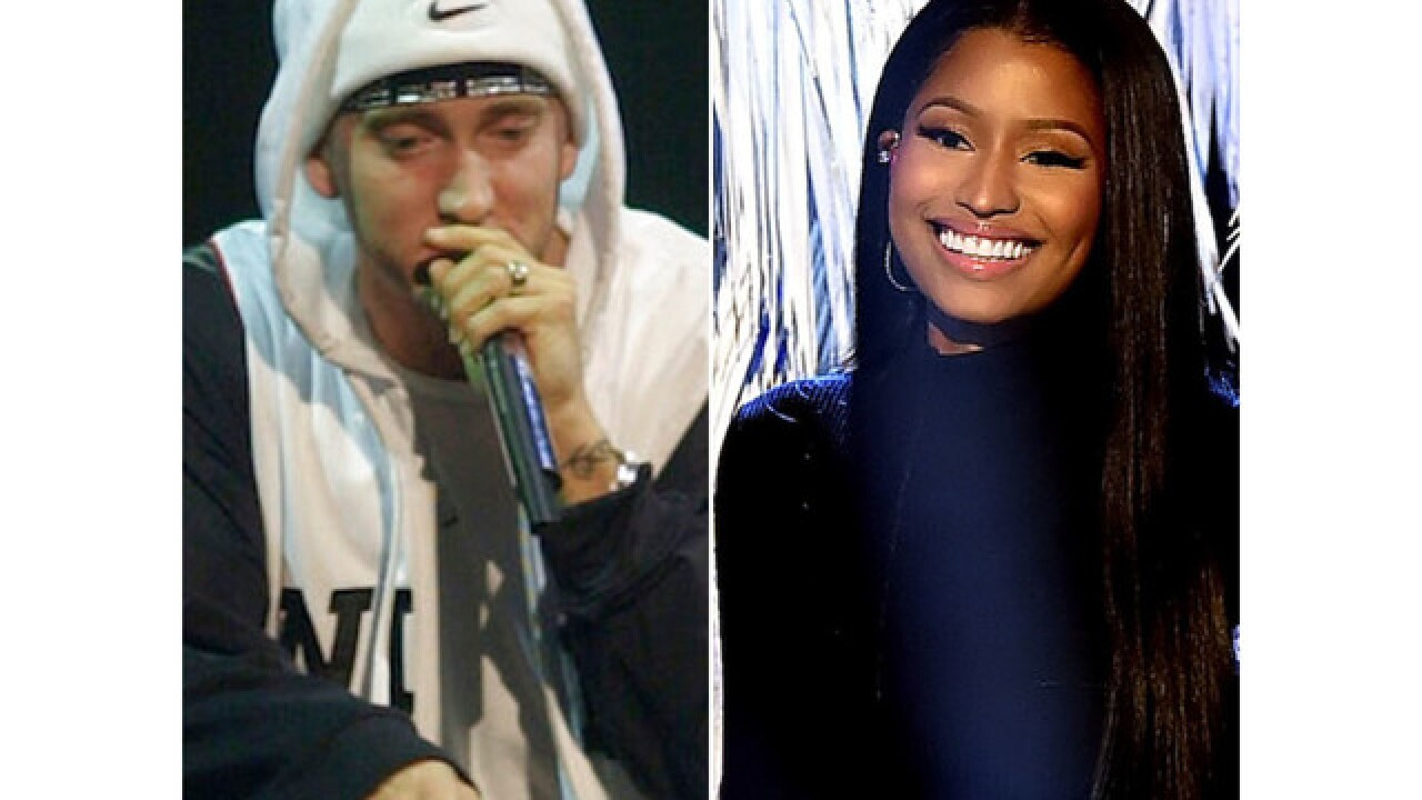 Nicki Minaj confirms relationship with Eminem in Instagram post