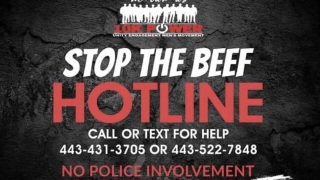 "We Our Us ""Stop The Beef Hotline"" saving lives"