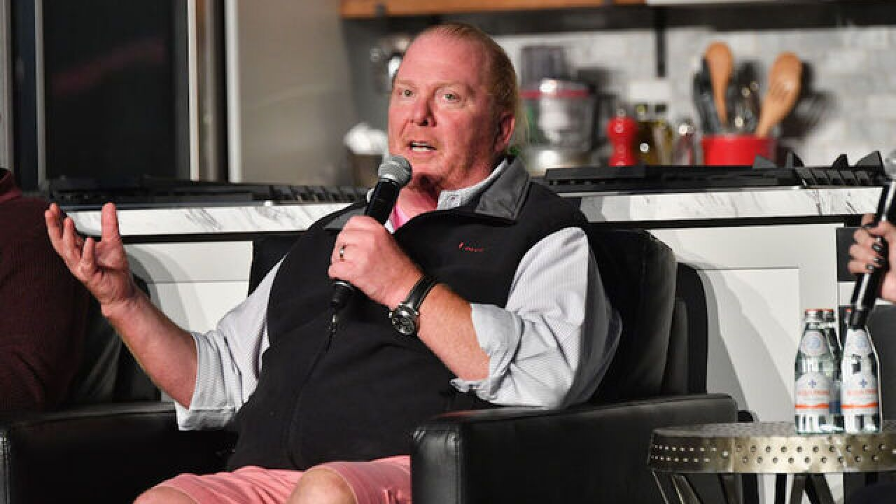 Chef Mario Batali includes recipe with apology for 'past behavior'