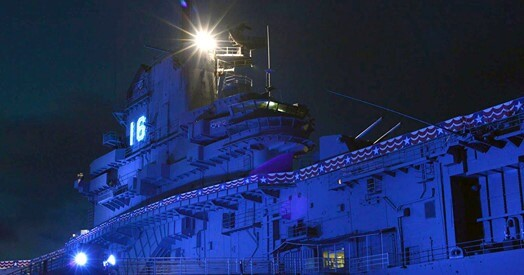 Haunting on the Blue Ghost‎ - Haunted House aboard the USS Lexington Facebook event.jpg