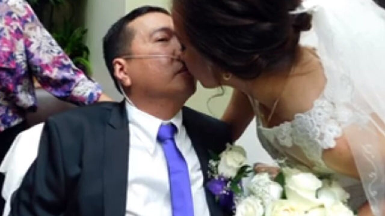 Hospital helps pull off emergency room wedding