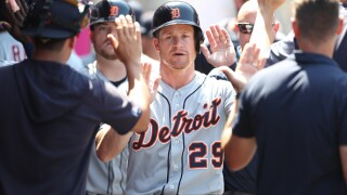 Tigers homer three times, Norris ends skid in win over Angels
