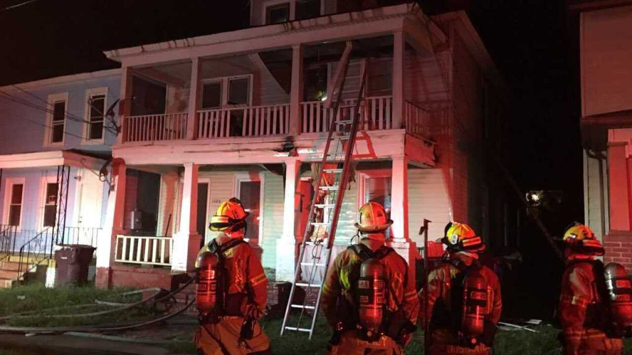 Seven people rescued after grill causes house fire in Chesapeake