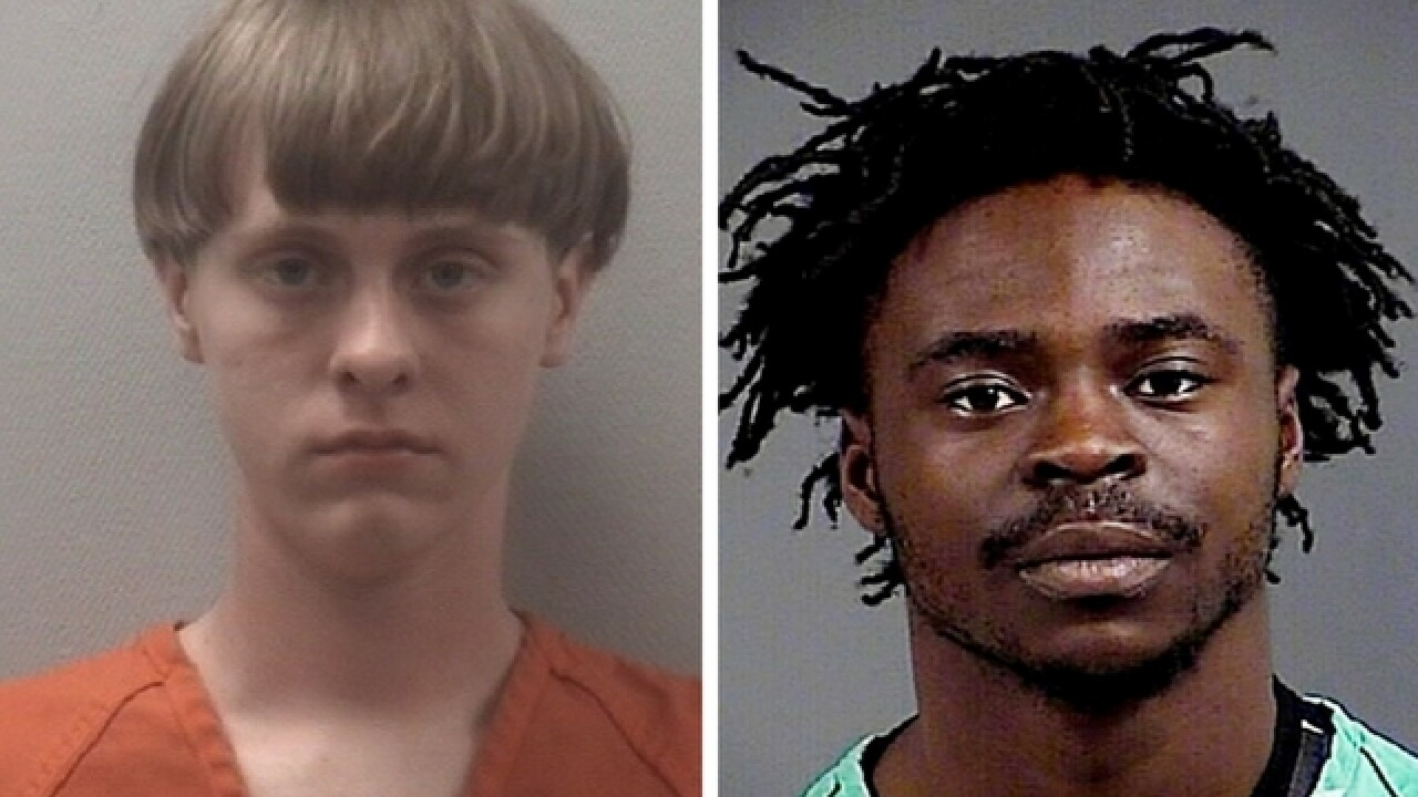 Dylann Roof's attacker released from jail hours after throwing punches