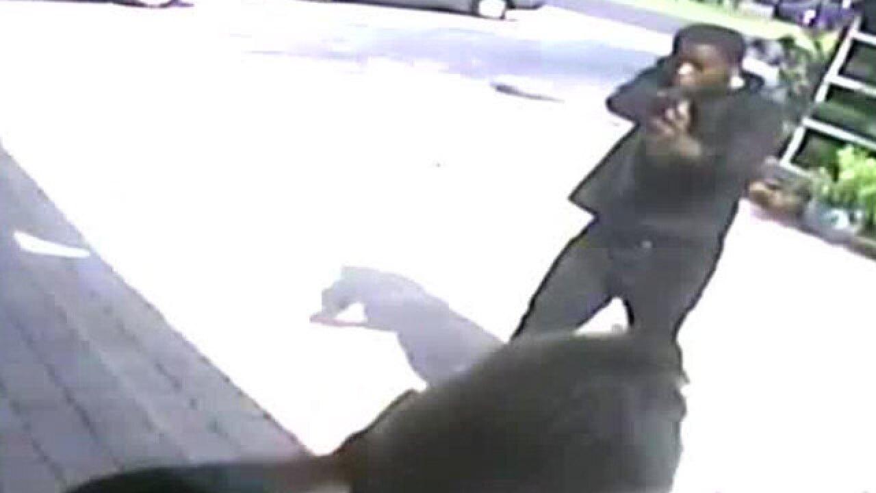 VIDEO: Gunman robs man's BMW in North Miami