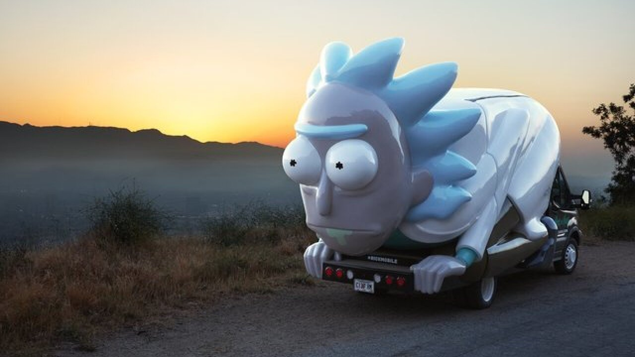 Buffalo distillery to host Rick & Morty themed pop-up with the 'Rickmobile'