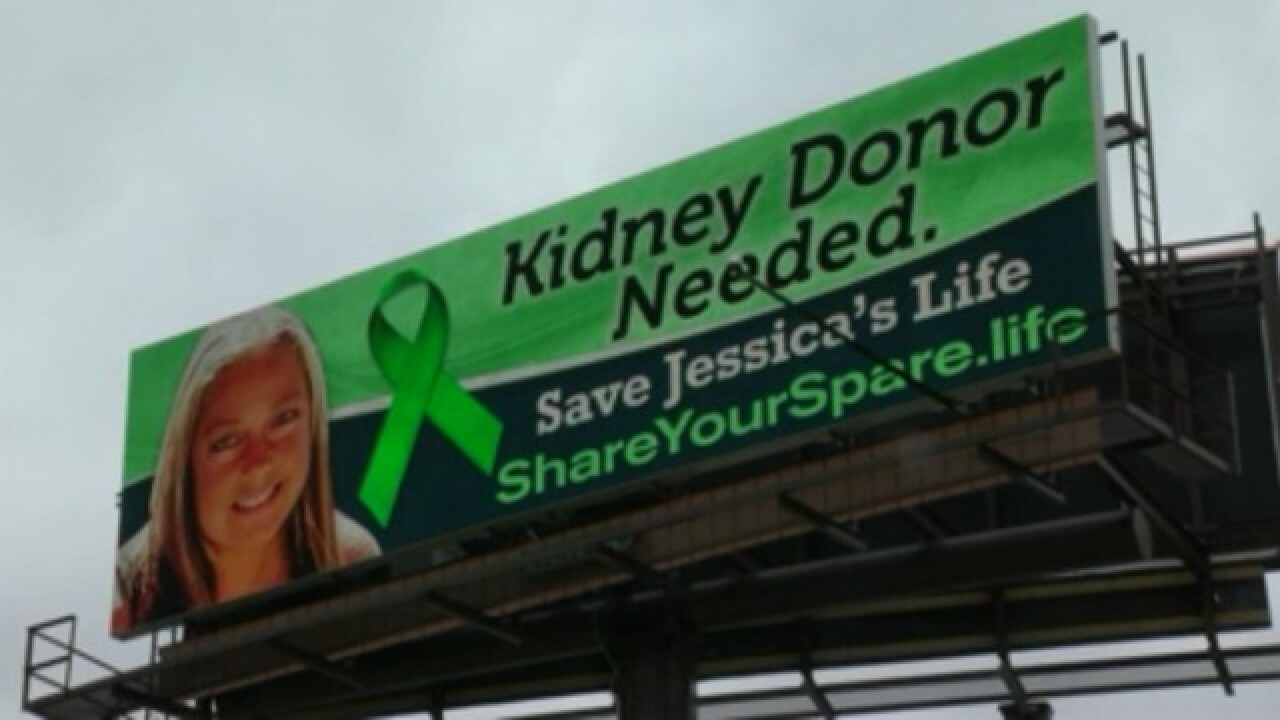 Save Jessica's Life': West Allis woman puts up billboards to
