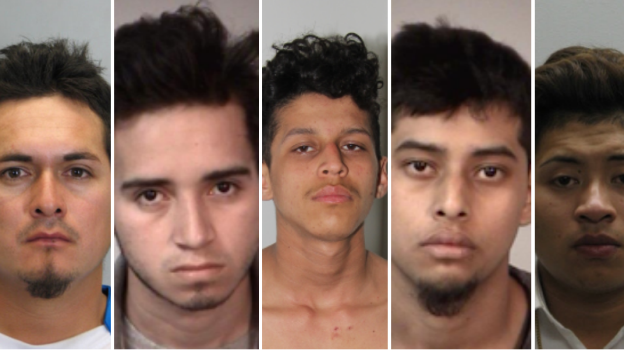 Police: Five MS-13 members arrested in connection to murder of Fairfax 16-year-old