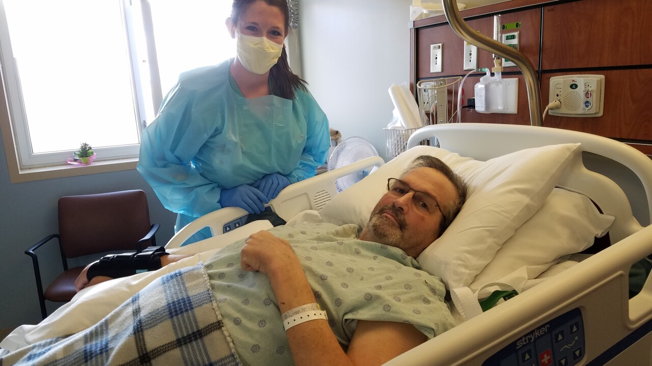 Desire to return to family fueling Choteau veteran's COVID recovery after six months hospitalized