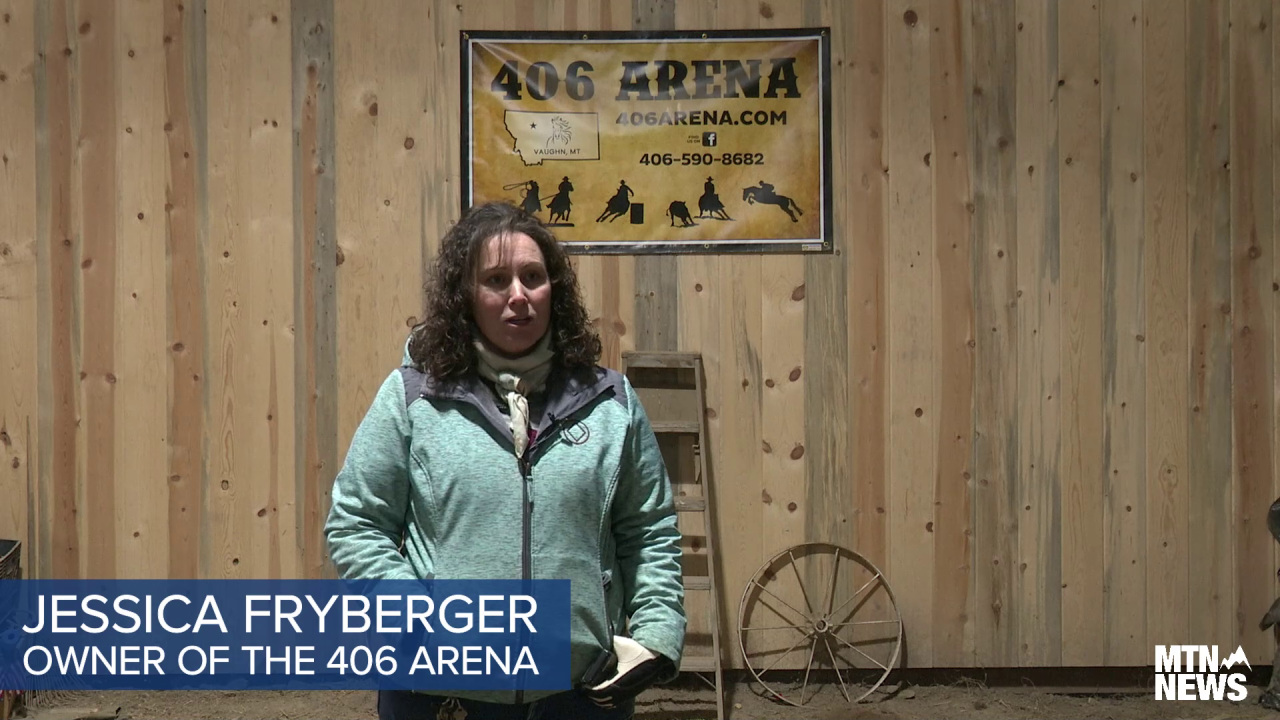 Jessica Fryberger, owner of the 406 Arena