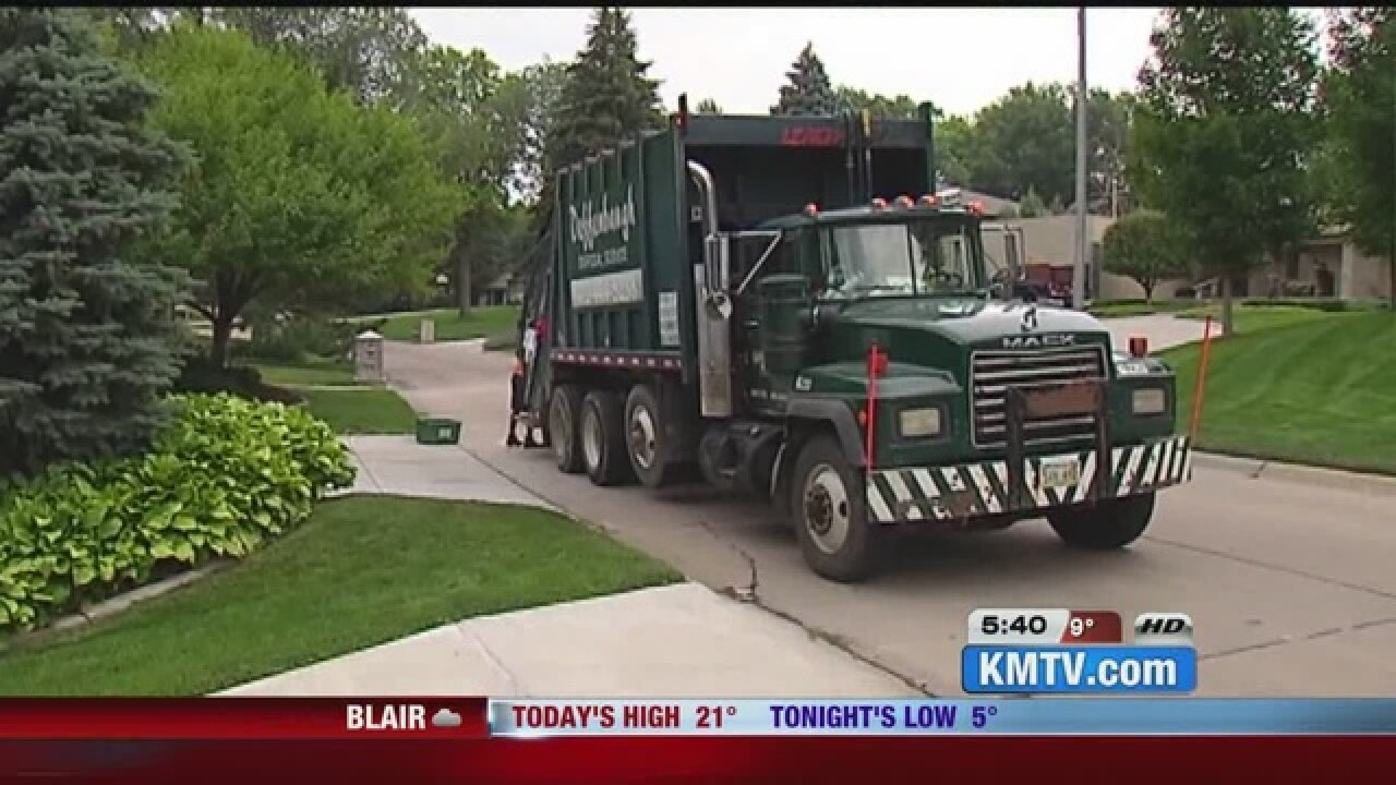 Open houses for trash collection begin Wednesday