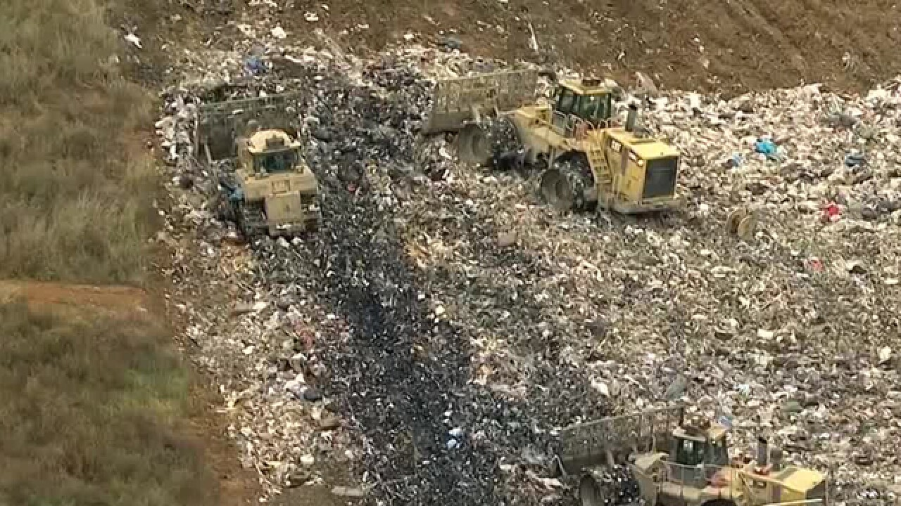 Officials Examining What To Do When Landfills Fill Up