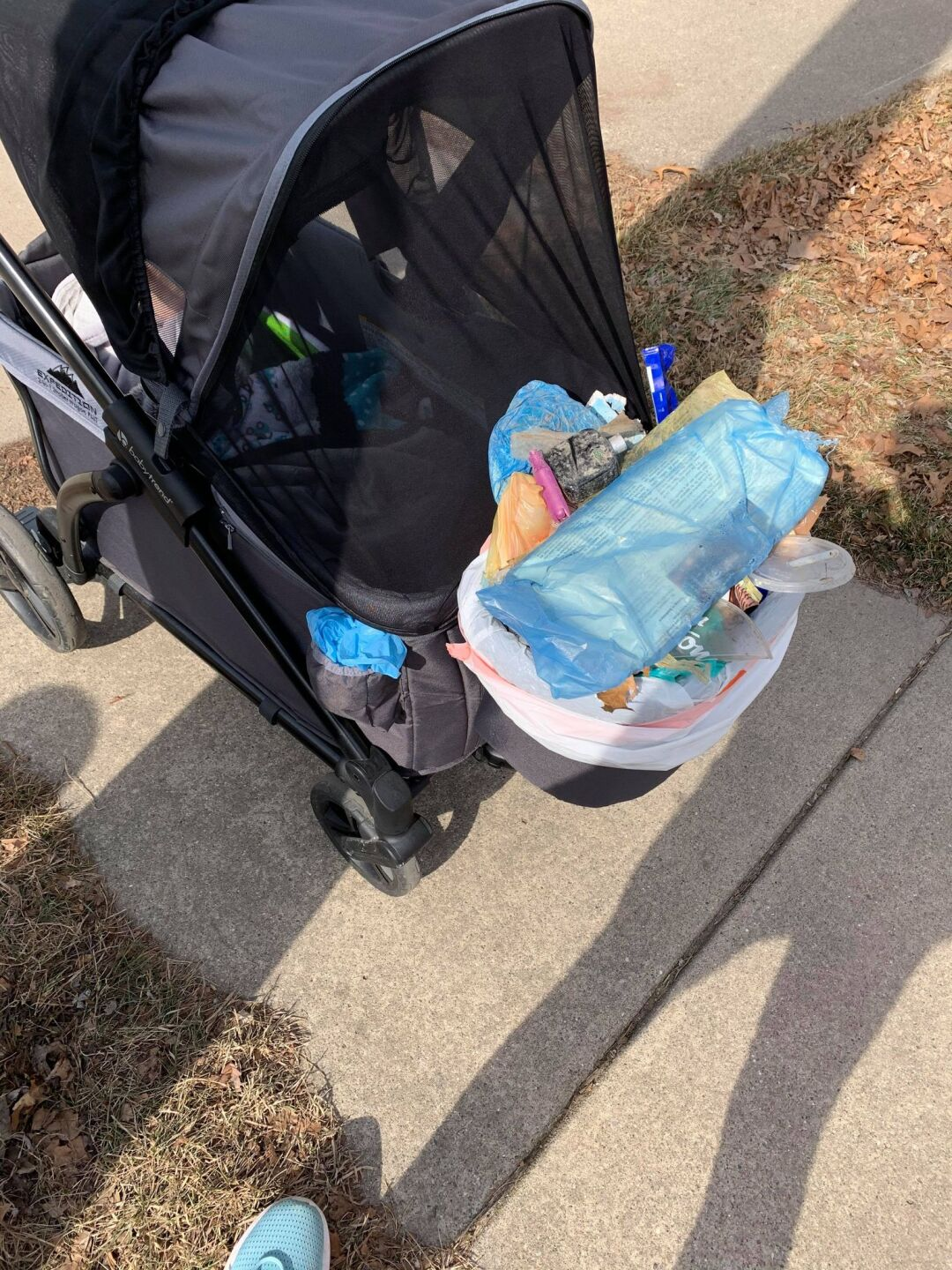 Local mom sets up community group to help clean up trash 'one bag at a time'