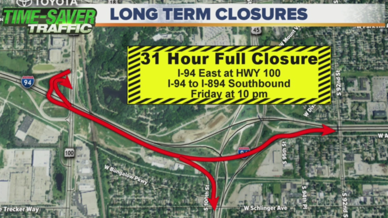 Portion of Zoo Interchange to close for 31 hours