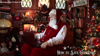Florida couple create network of 100 professional Santas from 5 countries to Zoom with kids