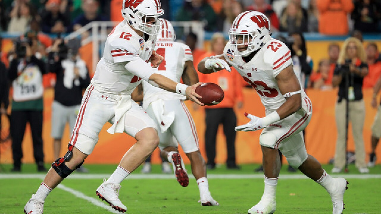 Badgers' Taylor technically breaks Freshman rushing record