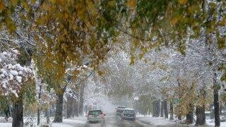 Snow in Denver