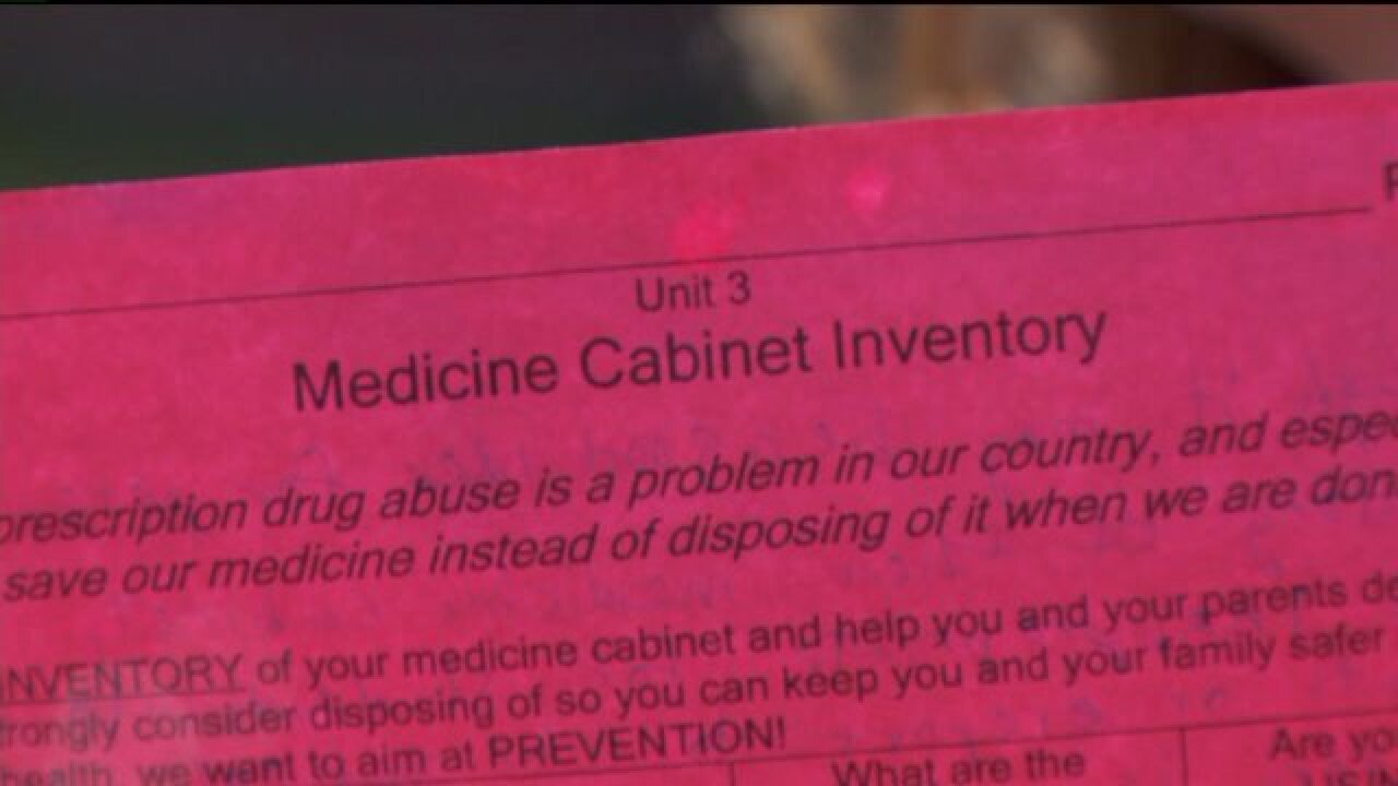 Parent says school assignment to take inventory of medicine cabinet invaded privacy