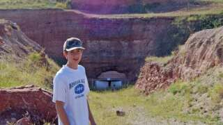 The Baide Family: Summer Sapphire Mine Memories