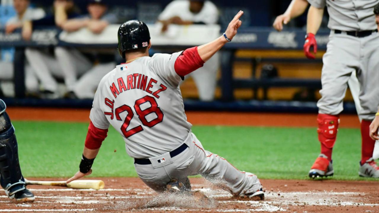 J.D. Martinez slides home