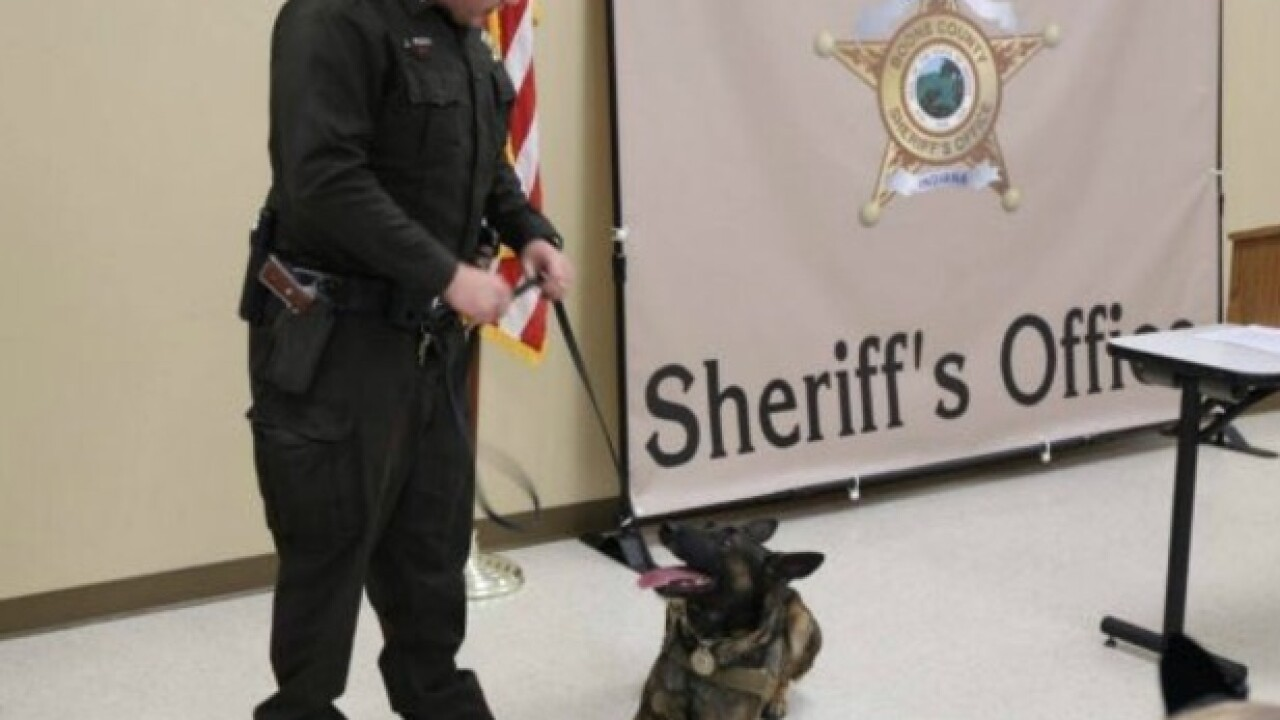 Fallen deputy's K-9 will live with his family