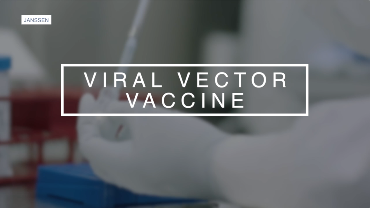 Viral vector vaccine from Johnson & Johnson