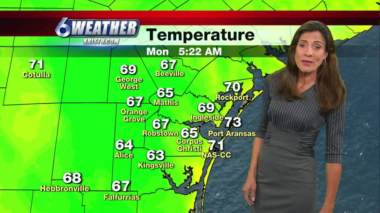 Foggy start, but another warm, dry day expected
