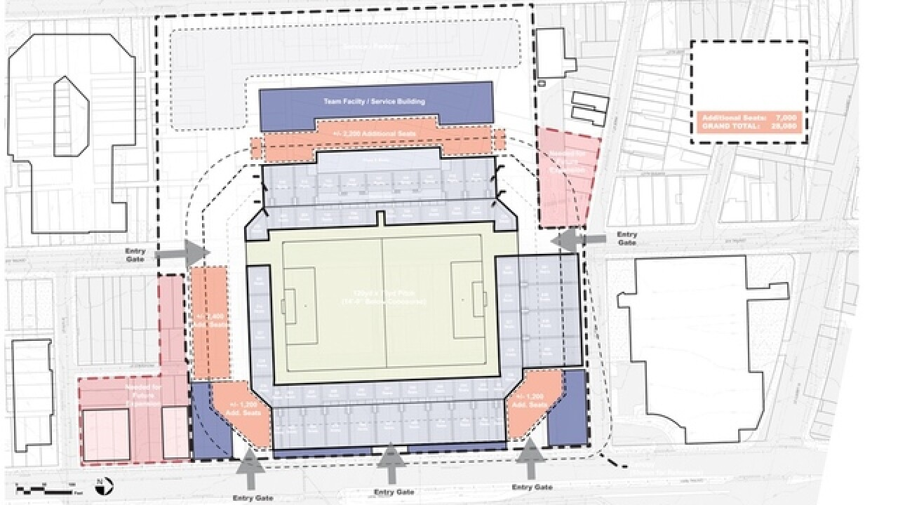 MAP: Here's how FC Cincinnati stadium might fit into the West End