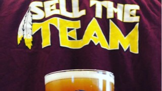 """Virginia brewery creates """"Sell the Team"""" IPA, inspired by 1-8Redskins"""