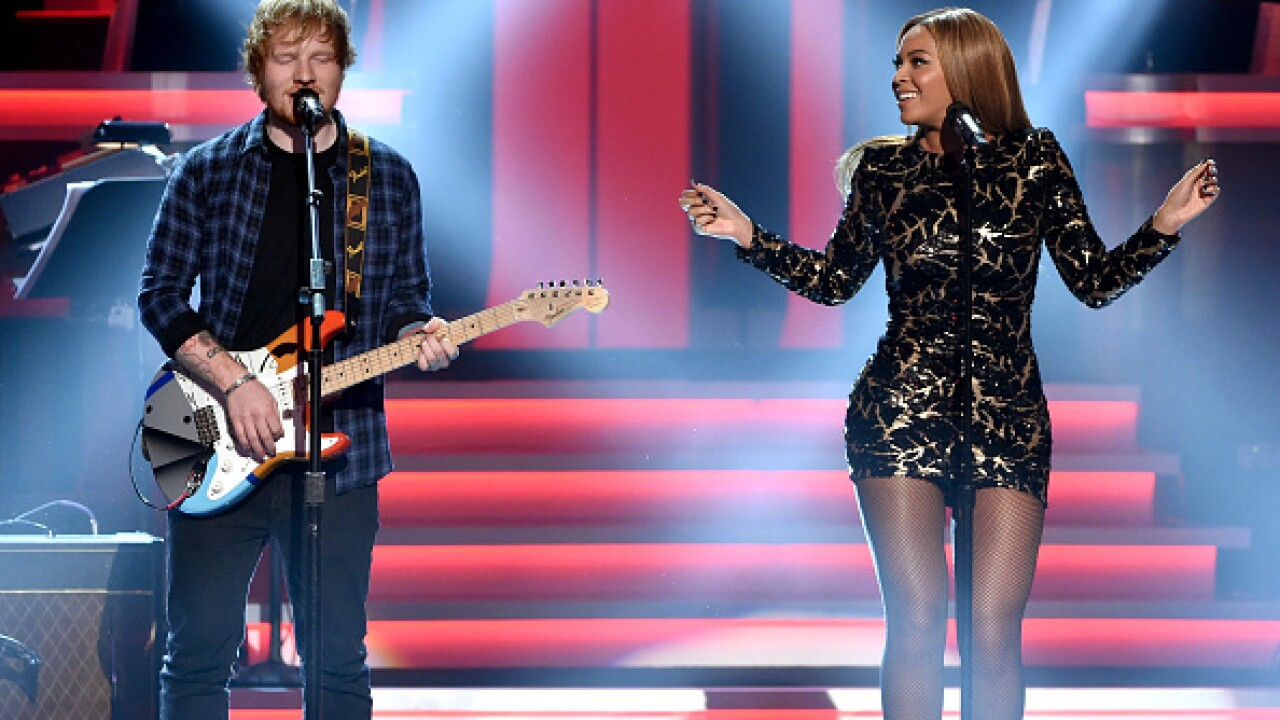 Beyoncé and Ed Sheeran teamed up for 'Perfect' duet