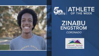 KOAA Athlete of the Week: Coronado's Zinabu Engstrom