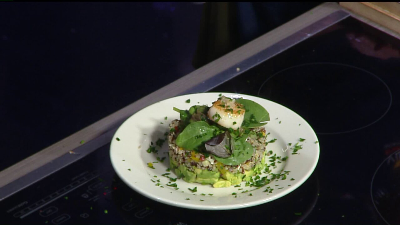Sizzling Scallops with ChefAusar