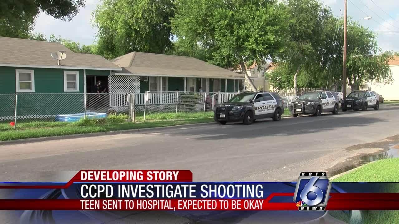 Teenager injured in Sunday evening shooting