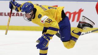 Lucas Raymond Czech Republic U20 Hockey Worlds