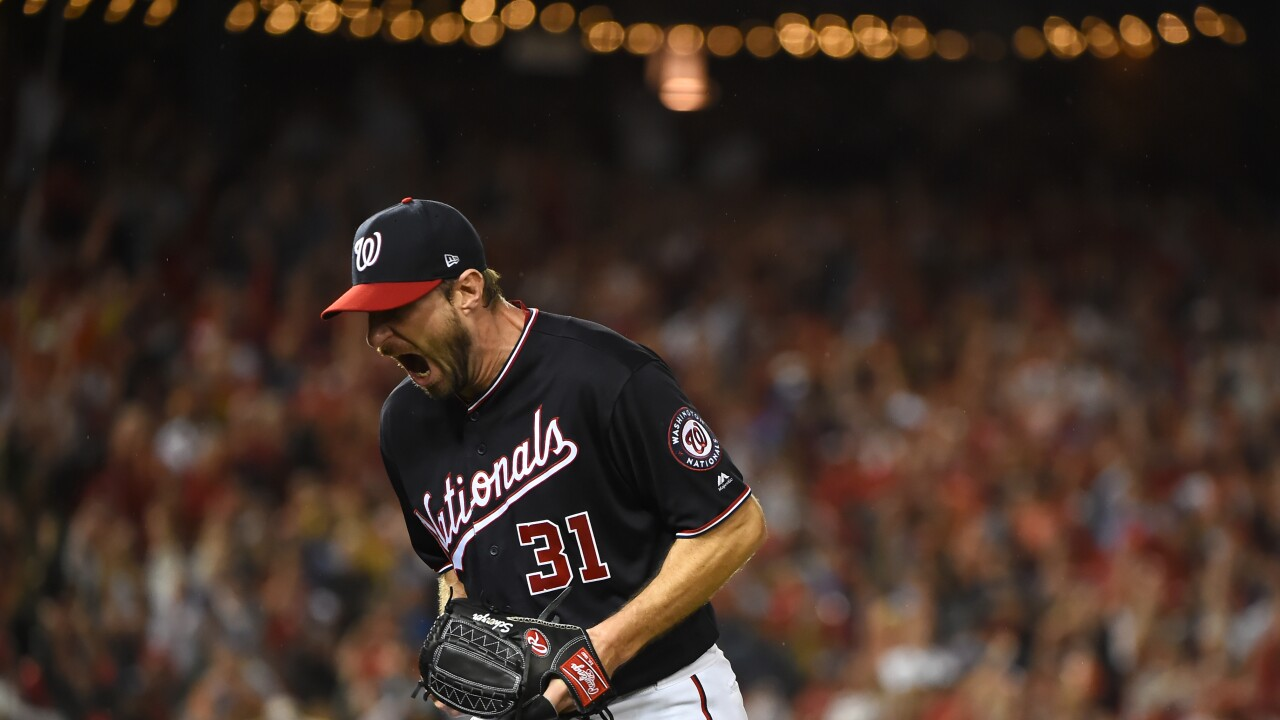 Scherzer Zimmerman Lead Nationals Past Dodgers To Force