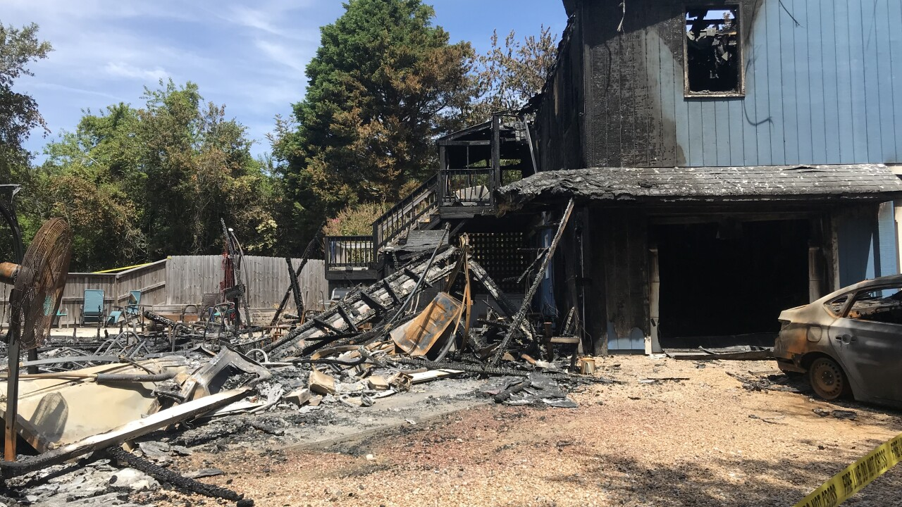 Grill, electrical fires damage two homes in Southern Shores