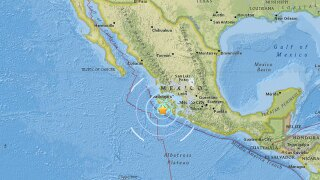 Earthquake reported off Mexico's Pacific coast