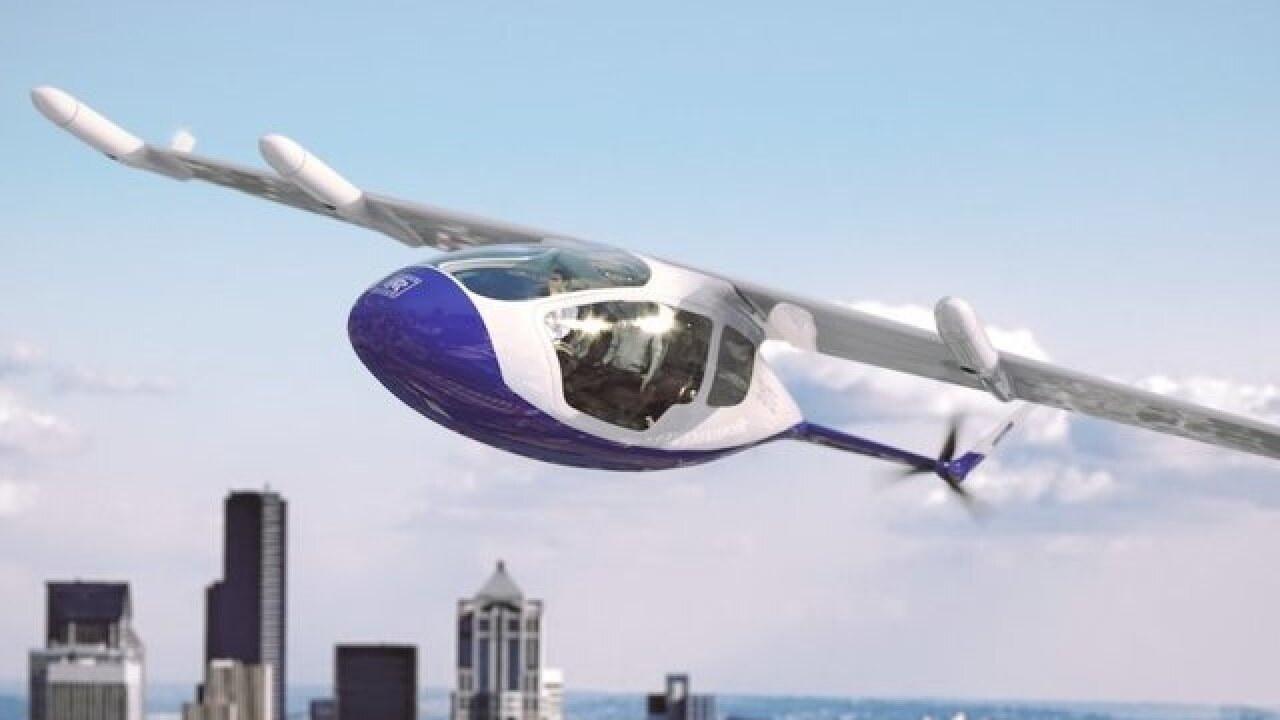 This could be the Rolls-Royce of flying taxis