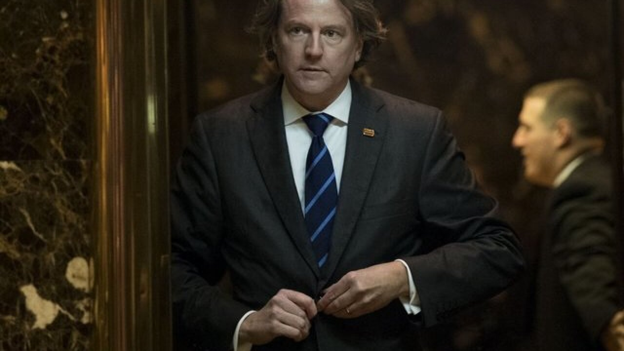White House counsel Don McGahn will leave his post this fall, Trump says