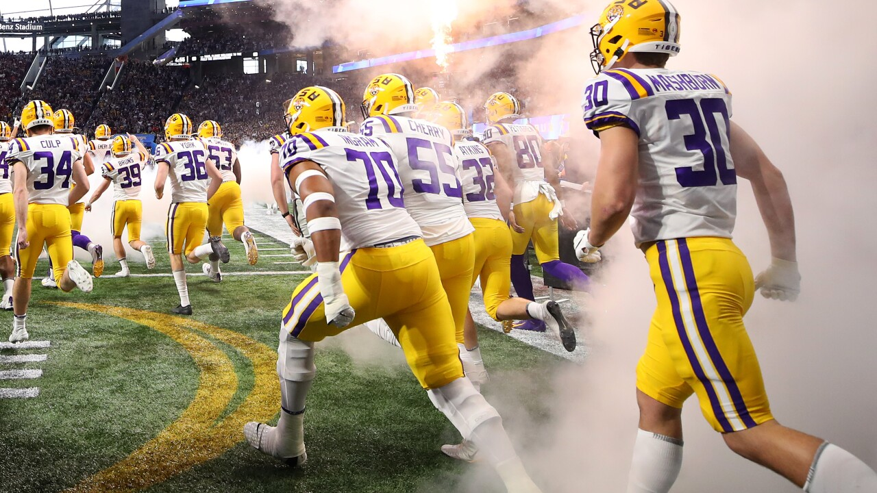 Hungry for a championship: LSU and Clemson face off in College Football Playoff National Championshipgame