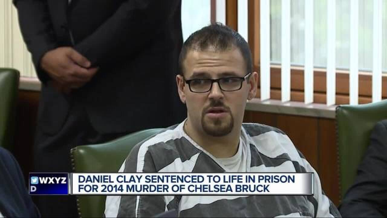 Clay sentenced to life in Bruck murder case