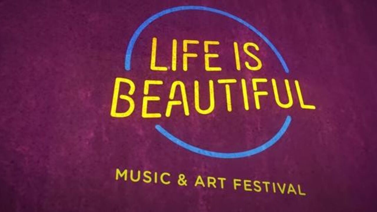 Life is Beautiful lineup for 2018 festival