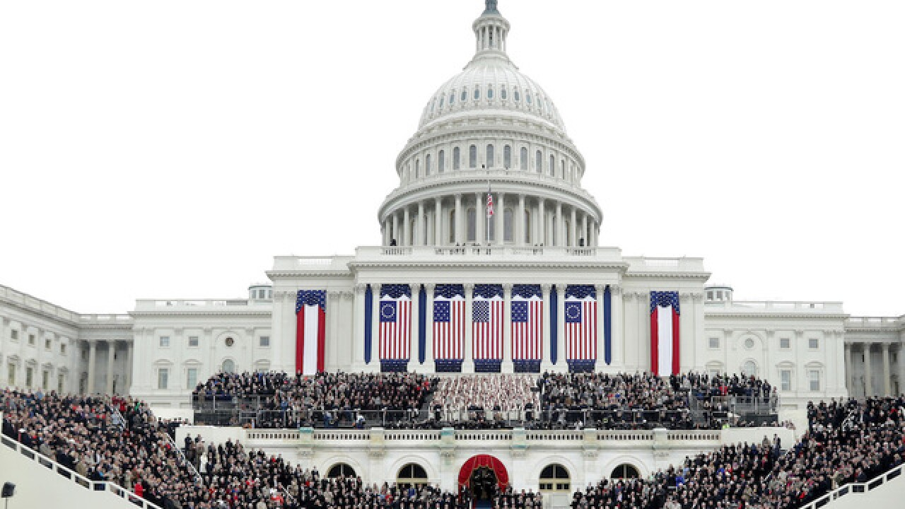 Coverage of Inauguration Day in Washington, D.C.