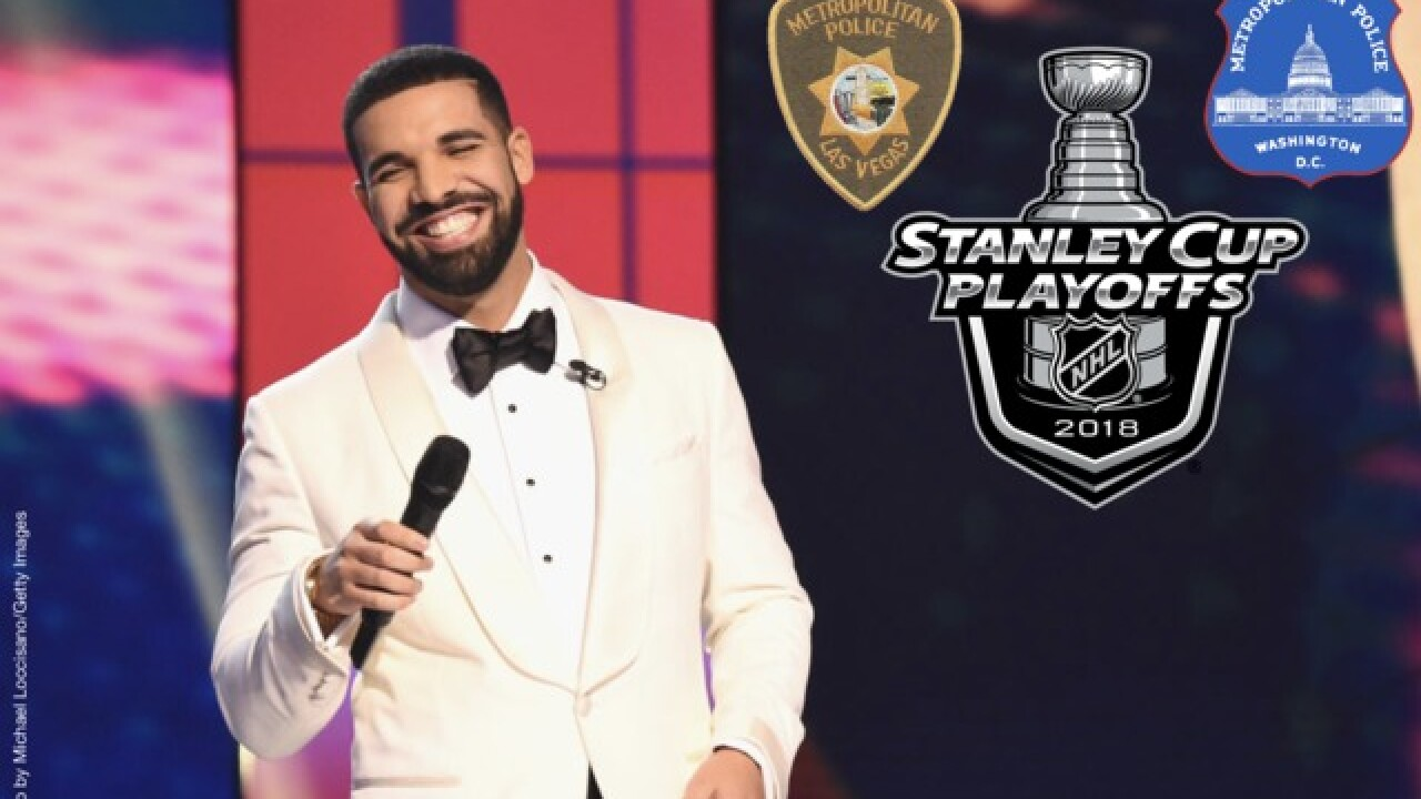 D C  police come at LVMPD on Twitter with Drake-style diss