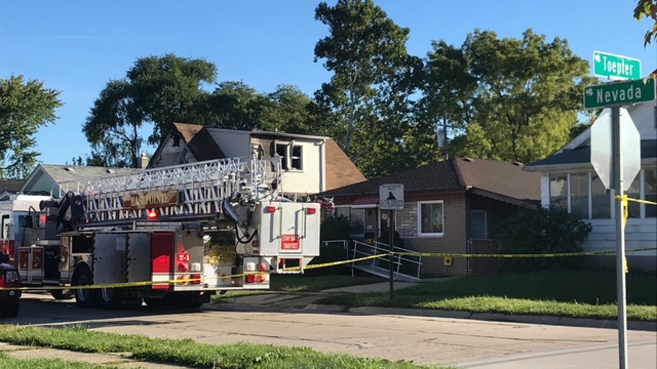 Police investigate house fire in Eastpointe
