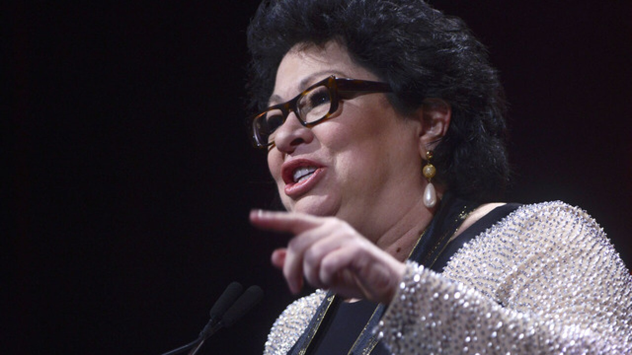 Justice Sotomayor speaks at MSU