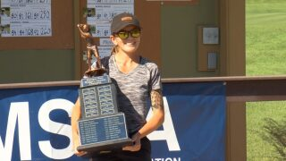 Former Rocky Mountain College star Eryn Ellis and Helena's Susan Court capture Montana State Am titles
