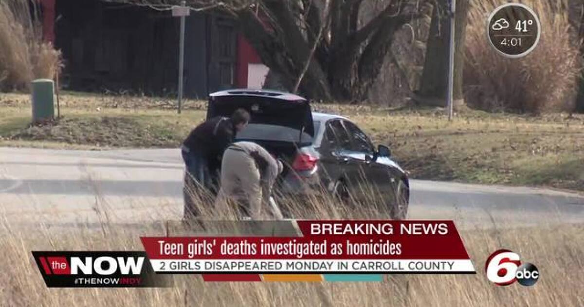 Delphi, Indiana missing teens: Two bodies found in Carroll