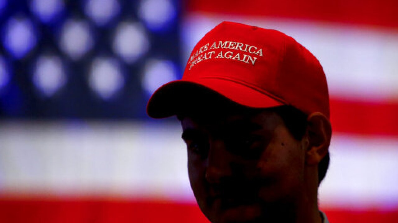 Worker says he was fired from shipyard for wearing Trump hat