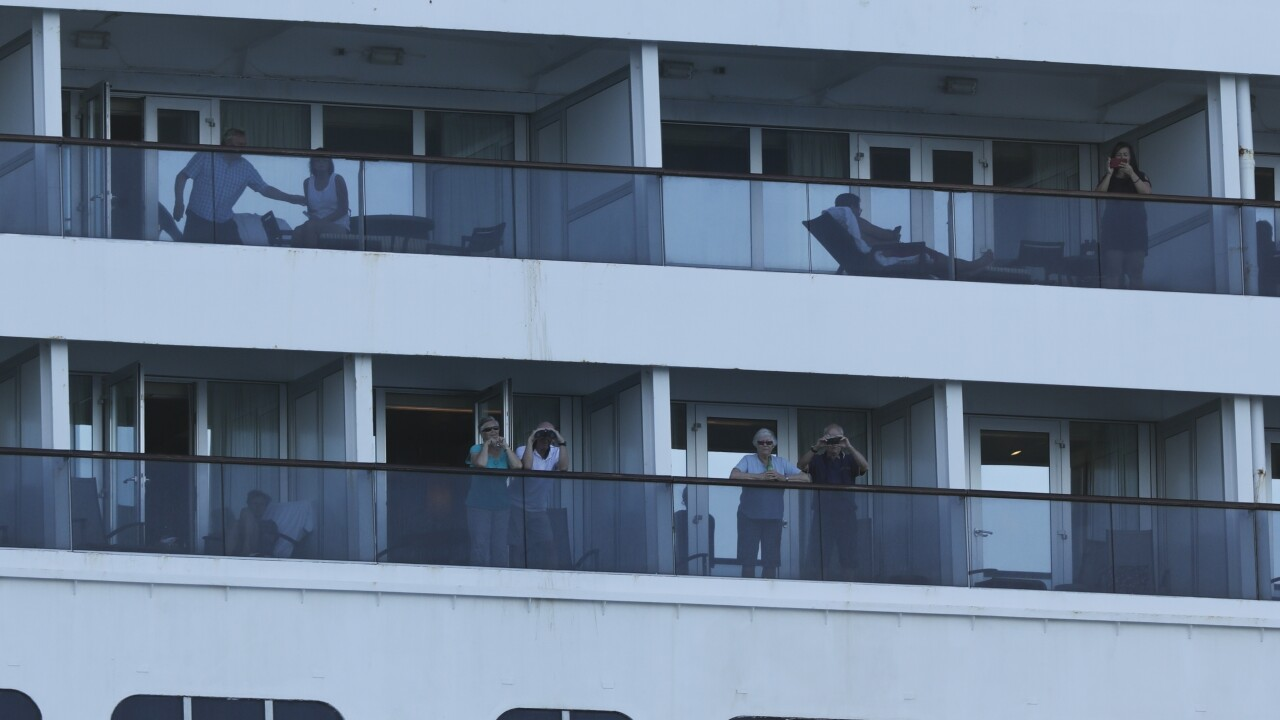 Passengers on Holland America's Zaandam confined to their cabins